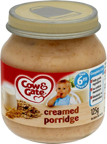Cow & Gate - Baby Food 6 Months Onwards - Creamed Porridge - 125g