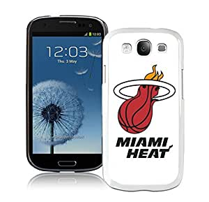 New Custom Design Cover Case For Samsung Galaxy S3 I9300 Miami Heat 5 White Phone Case