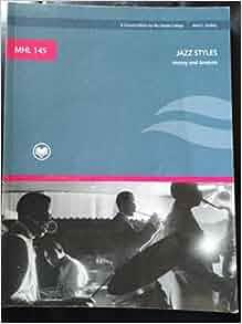 jazz styles history and analysis pdf