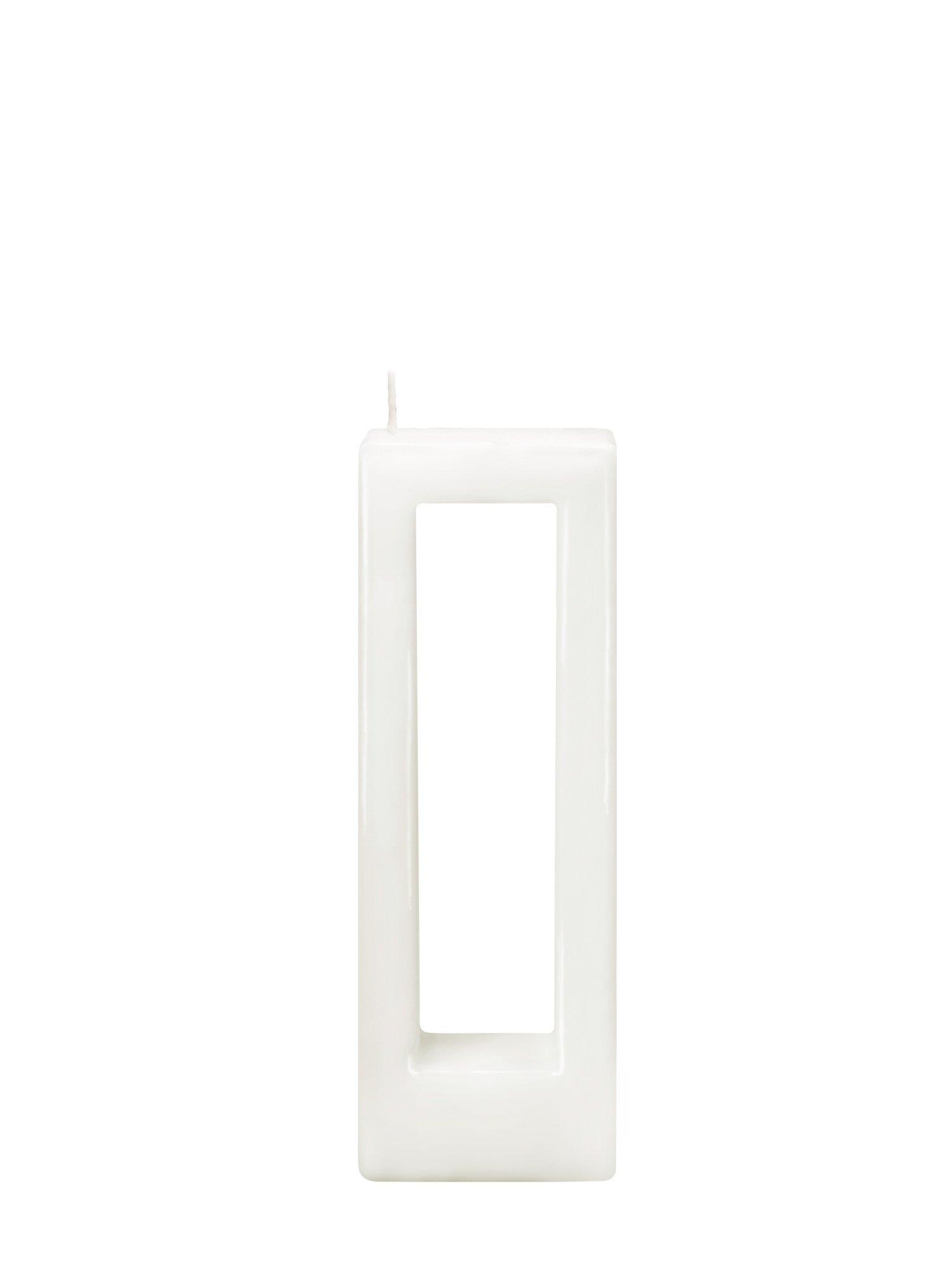 Alusi Multiflame Candle Quadra Due, Unscented (White)