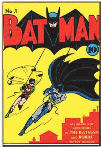 Silver Buffalo BN0736 DC Comics No.1 Batman Wood Wall Decor, 13 x 19 inches by Silver Buffalo (Image #2)