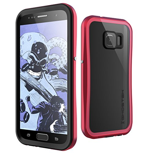 Galaxy S7 Waterproof Case, Ghostek Atomic 2.0 Series for Samsung Galaxy S7  (Red)