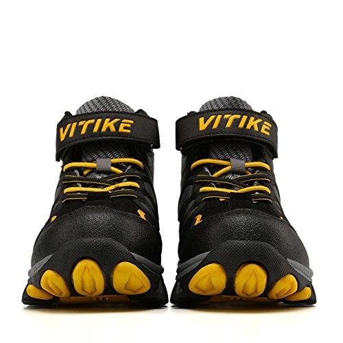 45d15047ff156 Chaussures en coton pour enfants Bottes de neige d hiver Chaussures de  randonnée Bottes de