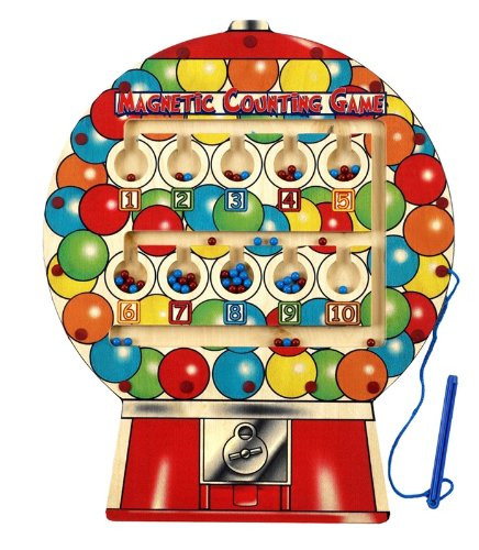 Anatex Magnetic Gumball Counting Game