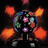 Revolving / Rotating Disco Strobe Party Light w/ Stars 110v