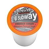 coffee bean keurig cups - Brooklyn Beans Cinnamon Subway Decaf Single-Cup Coffee for Keurig K-Cup Brewers, 40 Count
