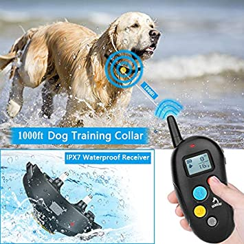 2019 Superhuman CHIP Bark Collar Smart Detection Module – Best Dog Vibration, Beep Anti-Barking Collar. No Bark Control Small Medium Large Dogs- Stop Barking Safe Humane