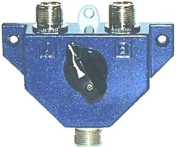 MFJ-1702 Interruptor de Antena, HF/VHF/UHF, 2-pos.