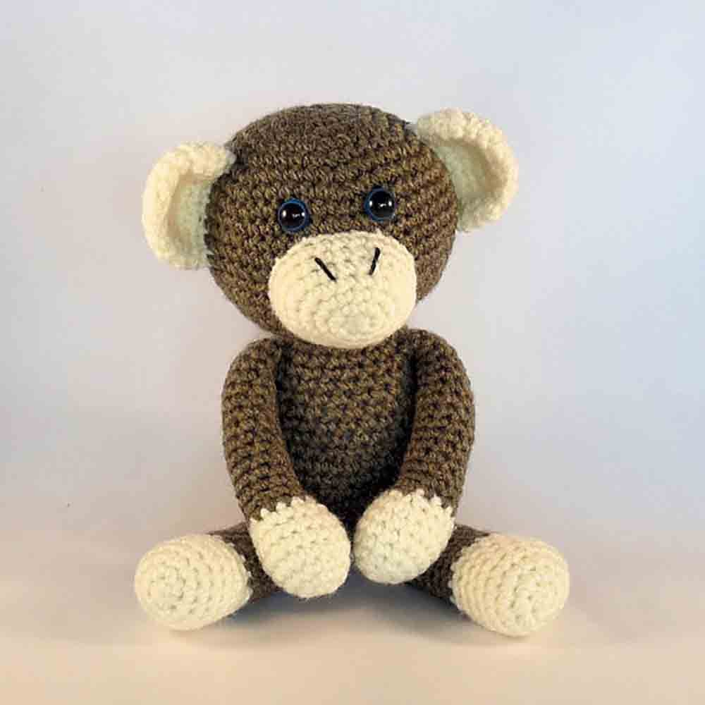 Cuddle Me Monkey amigurumi pattern - Amigurumi Today | 1000x1000