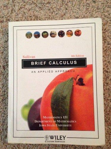 BRIEF CALCULUS >CUSTOM<
