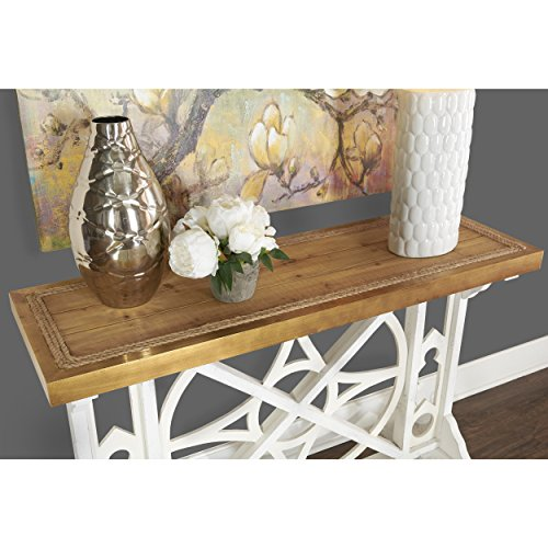 Powell-Nautical-Wood-Console-Table