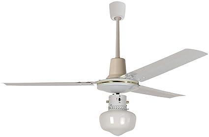 Plafoniere Per Ventilatori A Soffitto : Acquista ventilatore da soffitto capitol con lampada lampade