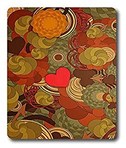 boots mouse mat Abstract Flower Pattern PC Custom Mouse Pads / Mouse Mats Case Cover by Maris's Diary