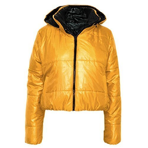 Candy Floss Fashion - Chaqueta - para Mujer Amarillo Mostaza