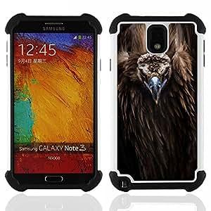 King Case - bird beak feathers nature animal condor - Cubierta de la caja protectora completa h???¡¯???€????€?????brido Body Armor Protecci&Atild
