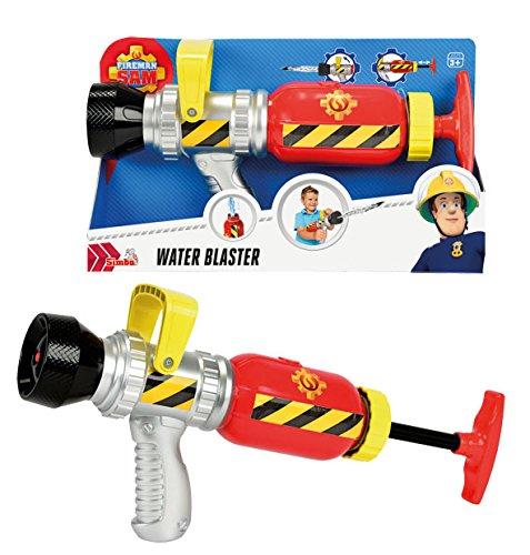 Sam El Bombero - Pistola de Agua, Color Amarillo / Rojo / Azul (Simba 9251746): Amazon.es: Juguetes y juegos