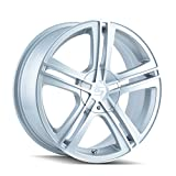 09 toyota corolla s rims - Sacchi S62 262 Hypersilver Wheel with Machined Face (17x7