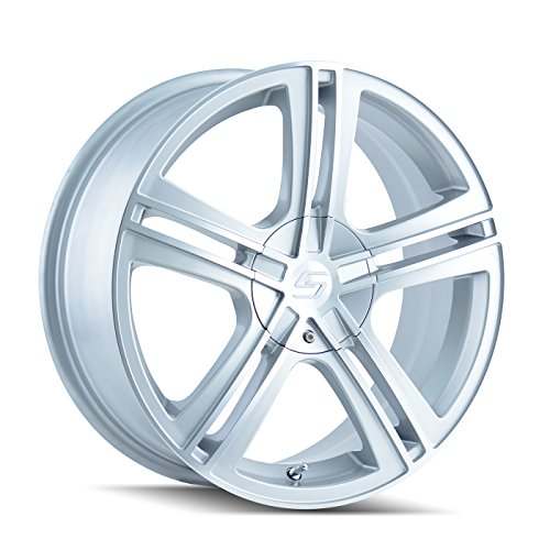 Sacchi S62 262 Hypersilver Wheel with Machined Face (17x7