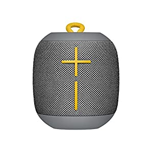 Logitech Ultimate Ears WONDERBOOM Super Portable Waterproof Bluetooth Speaker - Stone Grey(Certified Refurbished)