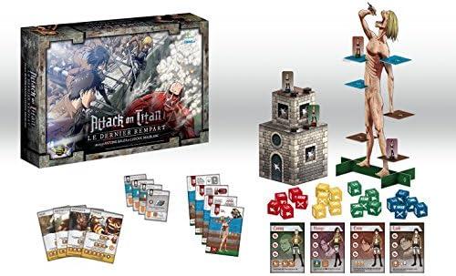 Dont Panic Games - Attack On Titan Juego de Mesa, Multicolor, D5F7449369: Amazon.es: Juguetes y juegos