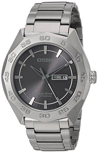 Citizen Quartz Titanium Casual Silver Toned