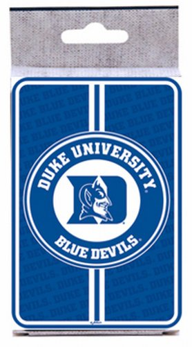 Cards Playing Ncaa - NCAA Duke Blue Devils Bullseye Playing Cards