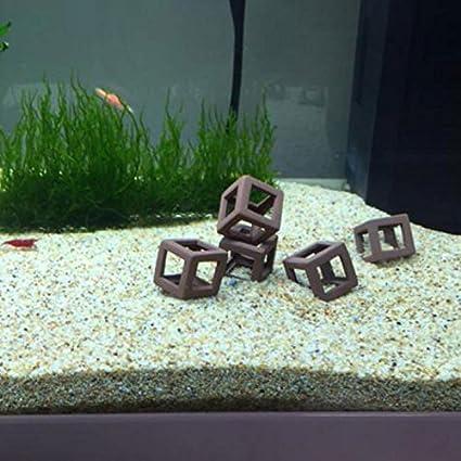 Bolange 5pcs Diy Aquarium Hiding Caves Hideout Shelter Aquarium Fish