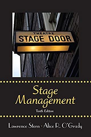 Stage Management by Stern Lawrence O'Grady Alice R. (2012-09-02) Paperback (Stage Management Lawrence Stern)