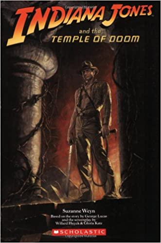 indiana jones and the temple of doom book
