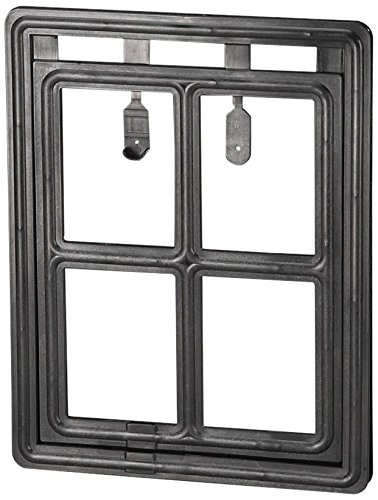 ADFORS Premium Pet Screen Door, 12 '' x 16'', Black