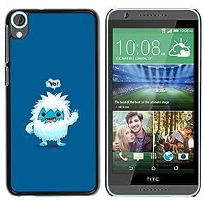 Caucho caso de Shell duro de la cubierta de accesorios de protección BY RAYDREAMMM - HTC Desire 820 - Lindo Jeti