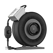VIVOSUN 4 Inch 203 CFM Inline Duct Ventilation Fan with Variable Speed Controller