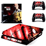 Vanknight Vinyl Decal Skin Sticker Cover Anime One Punch-Man Saitama for PS4 Playstation Controllers