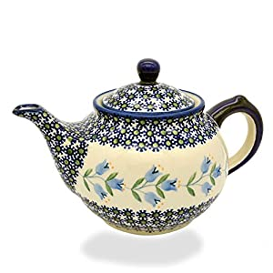 Polish Pottery approx. 4 to 6 cups, 1.25 litre
