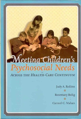 Meeting Children's Psychosocial Needs Across The Health-Care Continuum by Judy Holt Rollins (2005-04-30)