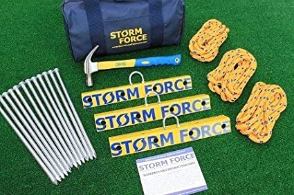 Stormforce Tie Down Anchors for Aircraft RVs /& Awnings RV/'s /& Awnings Sellbridge
