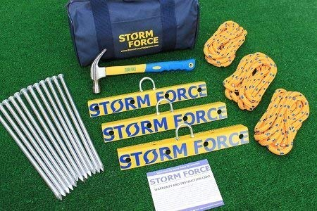 Stormforce Tie Down Anchors for Aircraft, RV's & Awnings