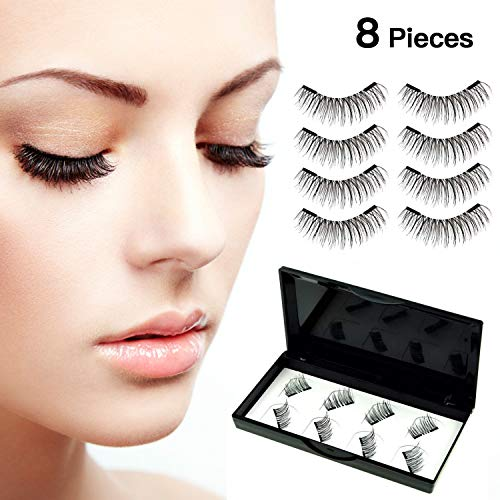 f8e1d9f0df4 ... No Glue Dual Reusable Magnetic Eyelashes Soft And Natural Look With  Eyelash Tweezers (r). by miussaa. 4.2. AED 70. Size: r. product-variation