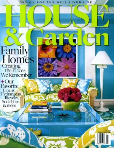 Download House & Garden July 2007 Family Homes - Creating the Places We Remember, At Home With Katie Brown, Bicycles and Bike Travel, Eero Saarinen, Manhattan's Fort Tryon Park pdf epub