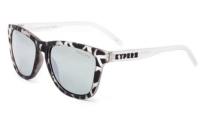 KYPERS Caipirinha, Gafas de Sol Unisex, Havanna Grey-Silver Mirror, 54