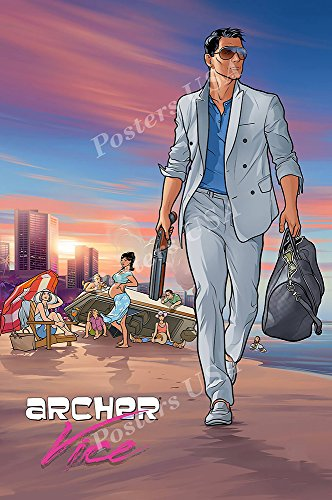 Posters USA - Archer Vice TV Series Show Poster GLOSSY FINISH - TVS453 (24