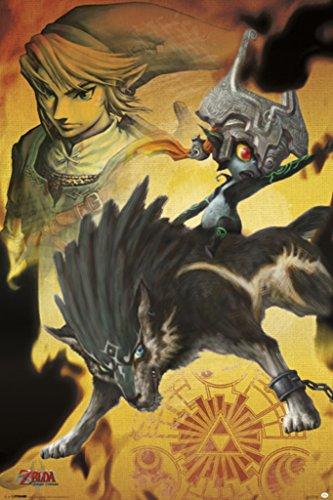 Pyramid America Midna The Legend of Zelda Twilight Princess Nintendo High Fantasy Video Game Series Poster 24x36 inch