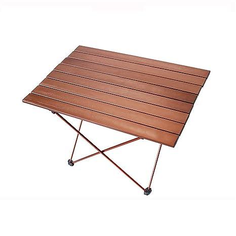 Mesa plegable de exterior Mini mesas plegables al aire libre ...