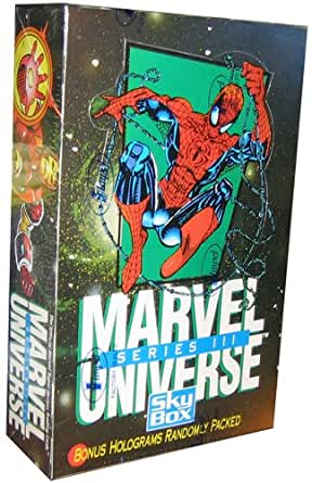 Marvel Universe Series Iii 3 Trading Cards Box 36 Count