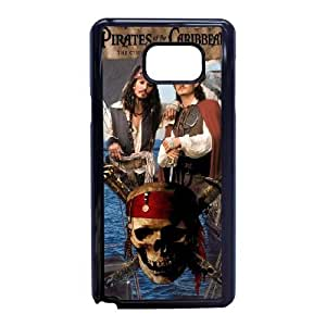 Samsung Galaxy Note 5 Cell Phone Case Black Pirates of the Caribbean Plastic Durable Cover Cases swxc5062504