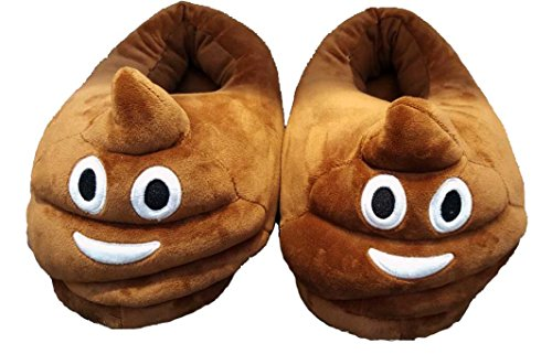 Emoji Slippers (Brown Poop)