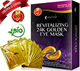 Best Hydrate Face Masks - Under Eye Mask Gold Anti-Aging Hyaluronic Acid 24k Review