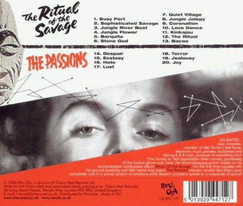 Ritual of the Savage / Passions by Rev-Ola