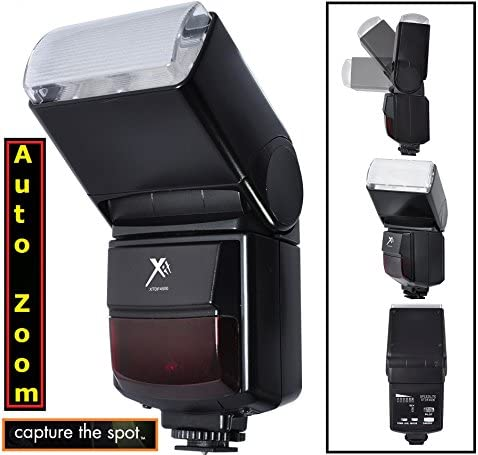 Automatic Zoom /& Bounce Flash for Canon EOS Rebel T3 T3i XS XSi T5i SL1 T4i