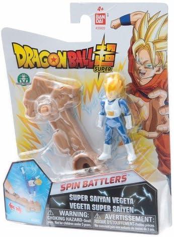 Giochi Preziosi – Dragon Ball Super Spin Battlers, 1 Personaje y 1 Base, Beerus Vegeta Super Sayan: Amazon.es: Juguetes y juegos